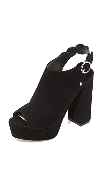 Isa Tapia Juno Platform Sandals