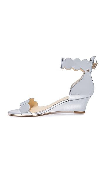 Isa Tapia Basia Wedge Sandals