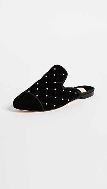Isa Tapia Charlene Quilted Mules