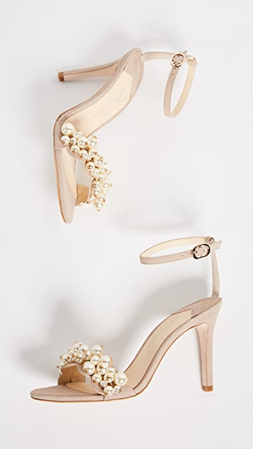 Isa Tapia Eliana Ankle Strap Pumps