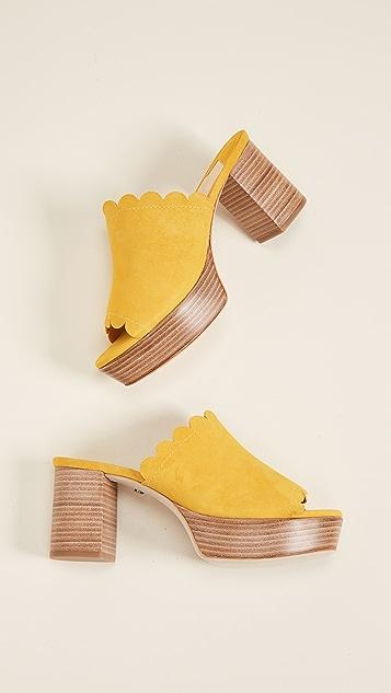 Isa Tapia Palmas Platform Sandals