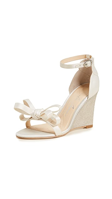 Isa Tapia Ella Wedge Sandals