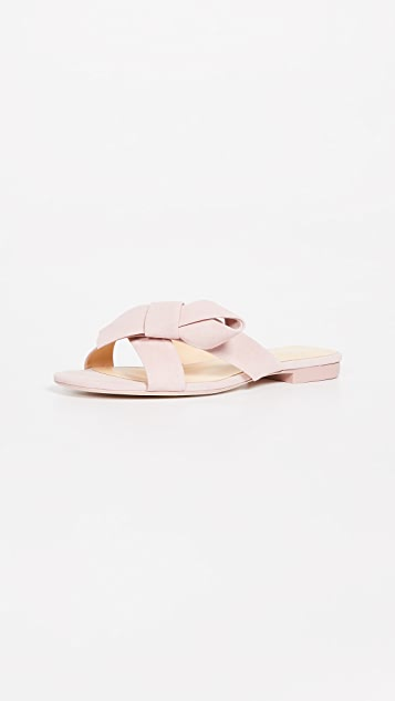 Isa Tapia Natalia Sandals - Beverly Hills Pink