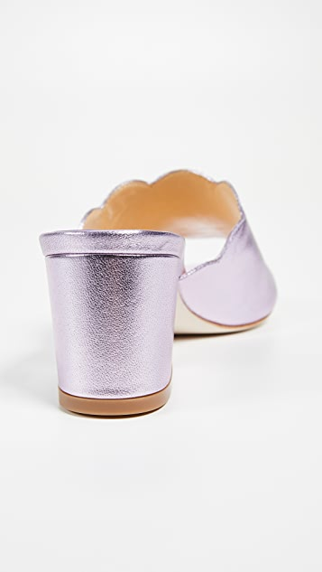 Isa Tapia Chiqui Metallic Sandals