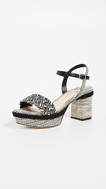 Prado Platform Sandals by Isa Tapia