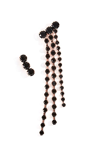 Isabel Marant Boucle Oreille Asymmetric Earrings