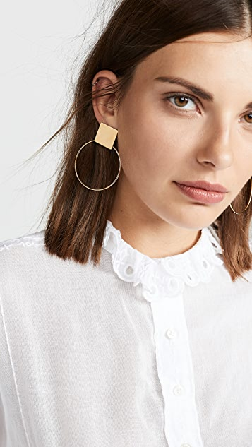 Isabel Marant Boucle Oreille Please Me Earrings