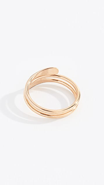 Isabel Marant Bague Casablanca Layered Ring