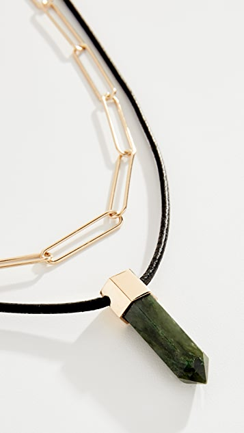Isabel Marant Collier Crystal Necklace