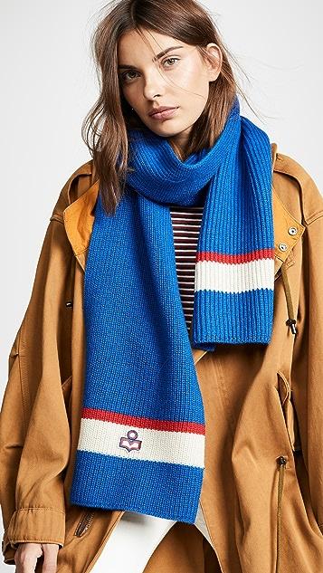 Isabel Marant Helona Ski Knit Scarf