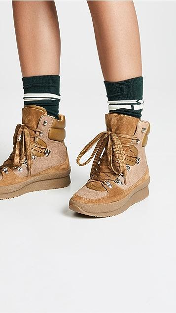 Isabel Marant Замшевые треккинговые ботинки Brendty
