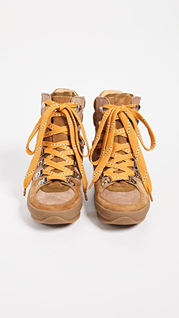 Isabel Marant Brendty Suede Hiking Boots