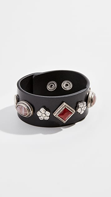 Isabel Marant Studs Belt Bracelet