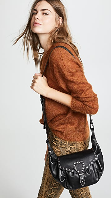 Isabel Marant Sinley Studded Shoulder Bag