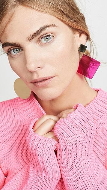 Isabel Marant Asymmetrical Earrings