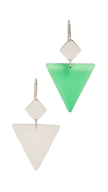 Isabel Marant Triangle Earrings