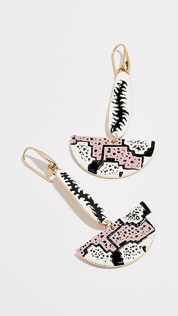 Isabel Marant Boucle Fan Earrings