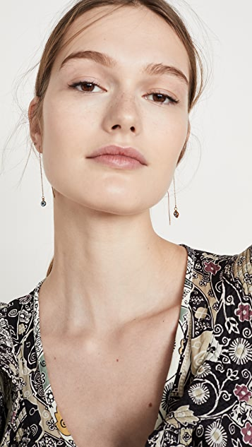 Isabel Marant 链式线形吊坠耳环