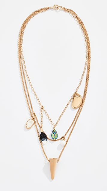 Isabel Marant Collier Layered Necklace