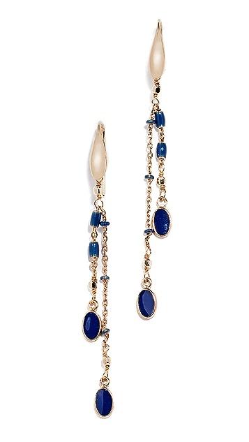 Isabel Marant Boucle Linear Drop Earrings