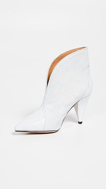 Isabel Marant Archee 绒面革短靴