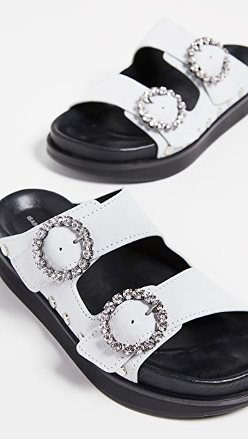 Isabel Marant Noddi Suede Sandals