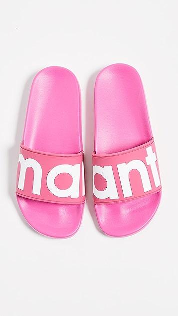 Isabel Marant Howee Slides