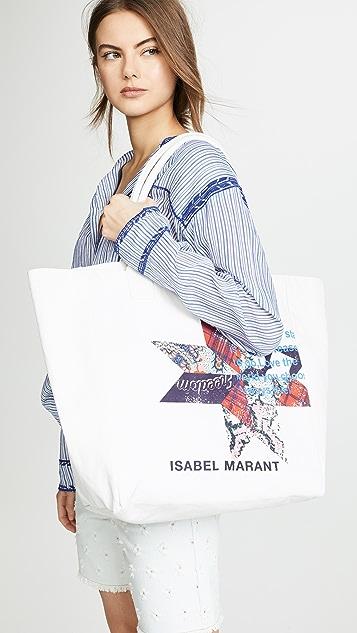 Isabel Marant Объемная сумка с короткими ручками Yenky
