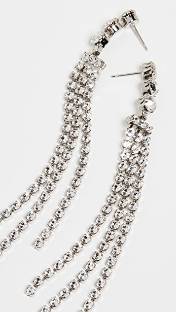 Isabel Marant Crystal Fringe Earrings
