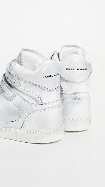 Isabel Marant Bilsy High Top Sneakers