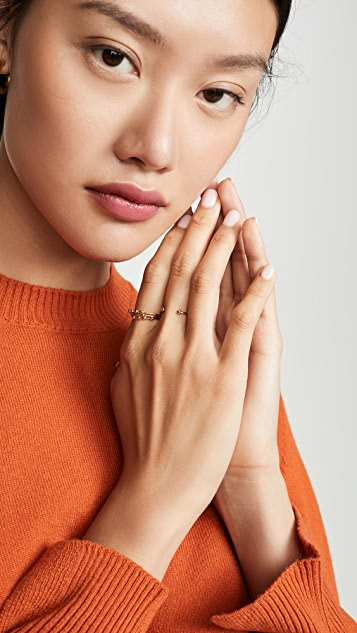 Isabel Marant Bague 层叠戒指套装