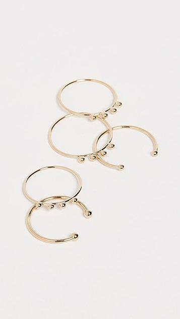 Isabel Marant Bague Stackable Ring Set