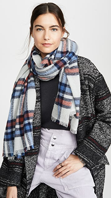 Suzanne Wool Scarf by Isabel Marant