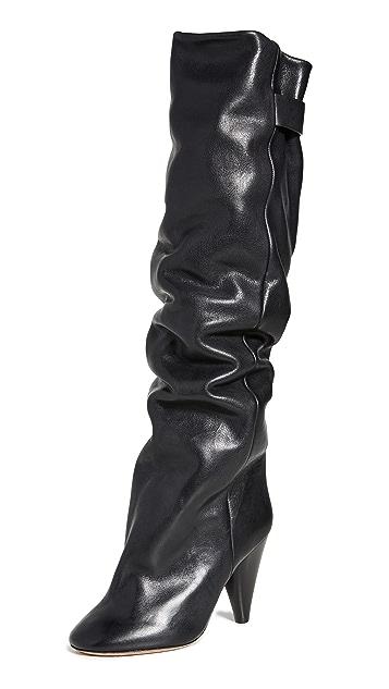 Isabel Marant Lacine Wrinkled Boots