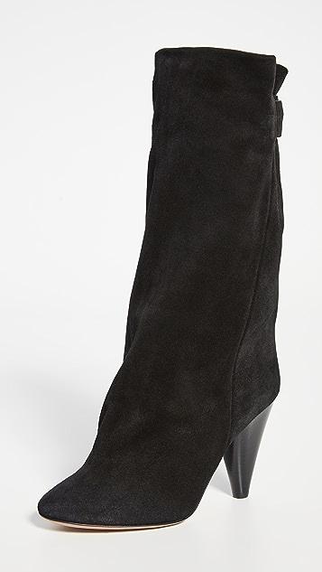Isabel Marant Lakfee 裥褶靴子