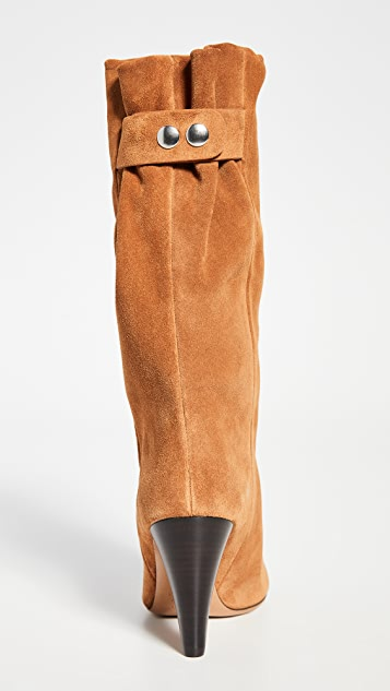 Isabel Marant Lakfee Wrinkled Boots