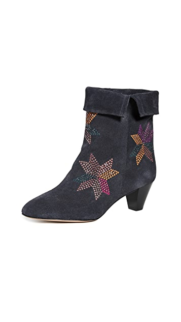 Isabel Marant Dyna Embroidered Boots