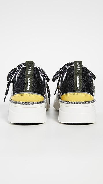Isabel Marant Kindsay Mesh Story Sneakers