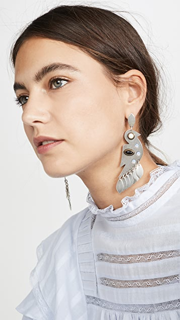 Isabel Marant Birdy 耳钉