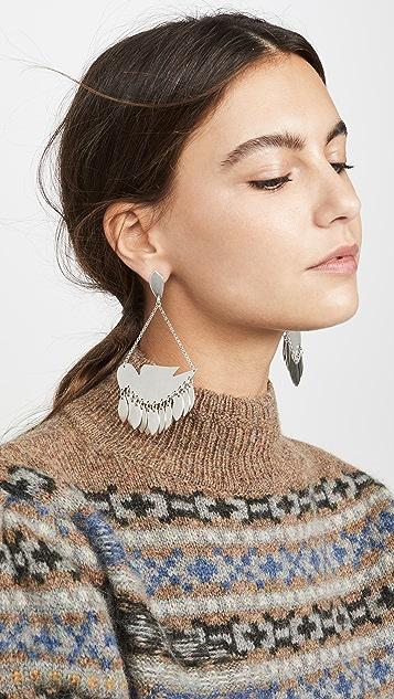 Isabel Marant 鸟儿耳环