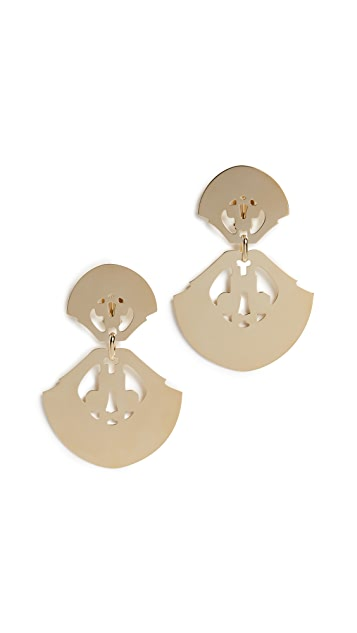 Isabel Marant Shield Earrings