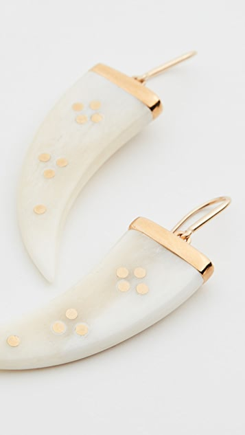 Isabel Marant Horn Earrings