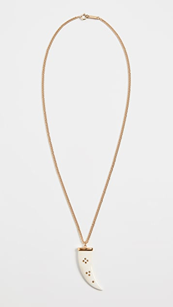 Isabel Marant Horn Long Necklace