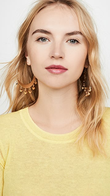Isabel Marant Tanganyika Big Hoop Earrings