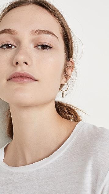 Isabel Marant New Amer серьги-кольца
