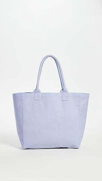 Isabel Marant Объемная сумка с короткими ручками и принтом в виде логотипа