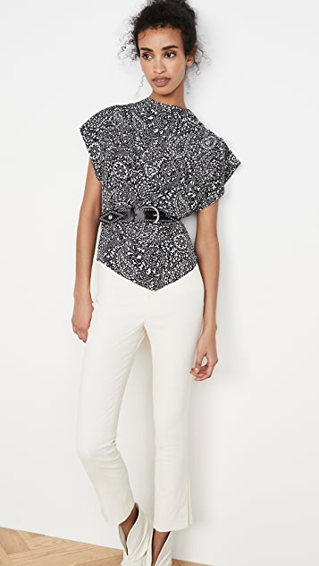Isabel Marant Brinlya Top