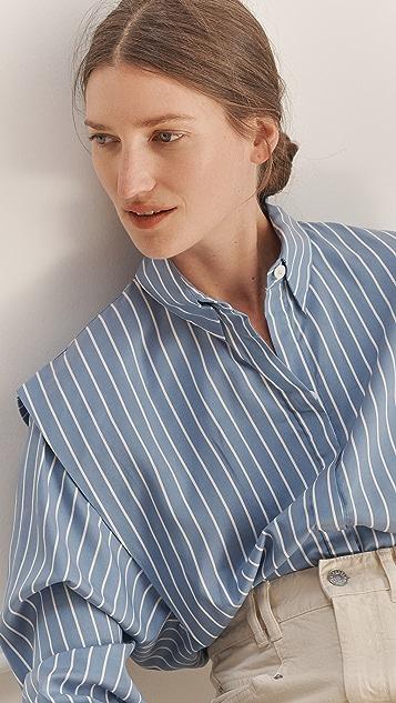 Isabel Marant Silk Talki 系扣上衣