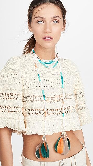 Isabel Marant Wrap Necklace
