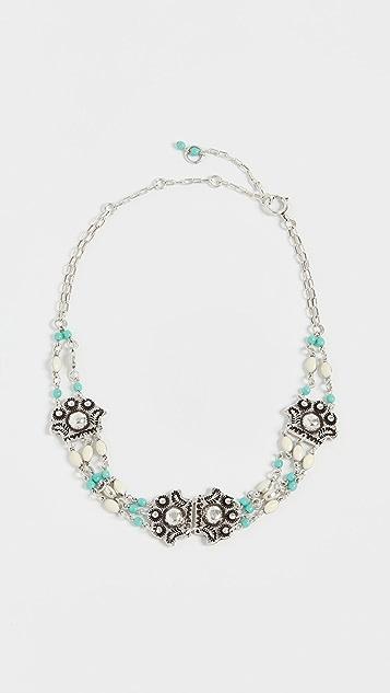 Isabel Marant Etched Necklace